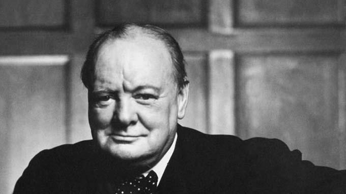 Winston Churchill nails it again